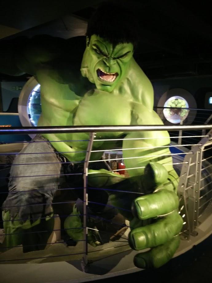 Hulk al Madame Tussauds